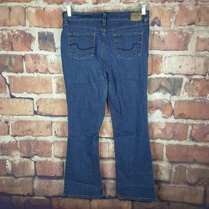 Levis Signature Womens At Waist Boot Cut Jeans 12